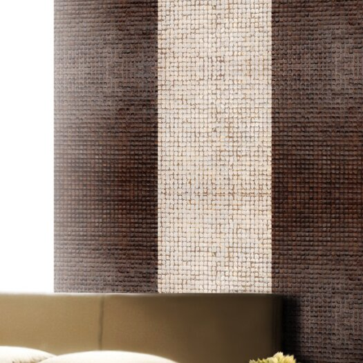 Cocomosaic Coconut Textured Mosaic in Espresso Bliss