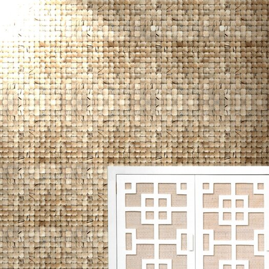 Cocomosaic Coconut Textured Mosaic in Natural Bliss
