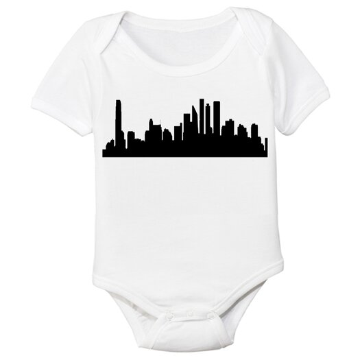 Spunky Stork City Organic Baby Bodysuit
