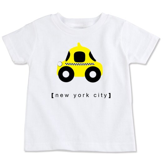 Spunky Stork New York City Taxi Organic Tee