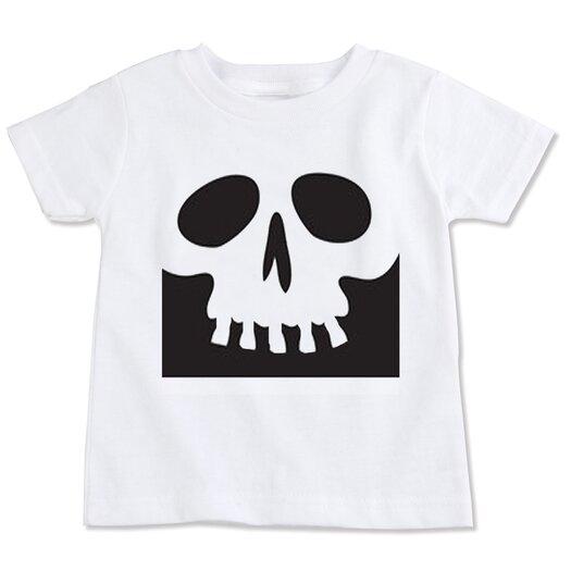 Spunky Stork Skull Organic T-shirt