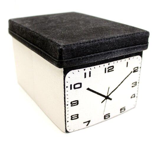 Molla Space, Inc. Clock Home Storage Box