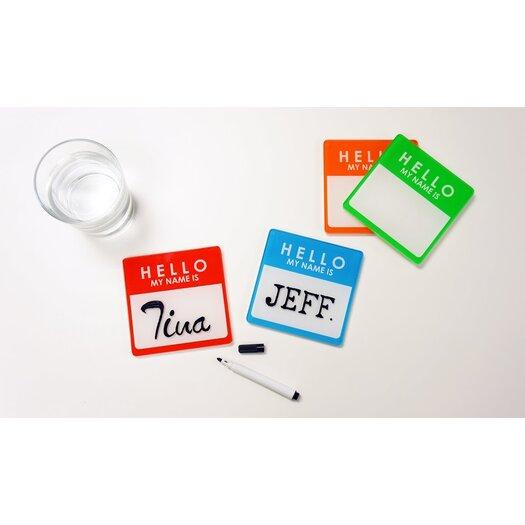Molla Space, Inc. Name Tag Coaster Pads