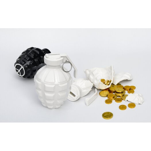 Biaugust A Love Grenade Coin Bank