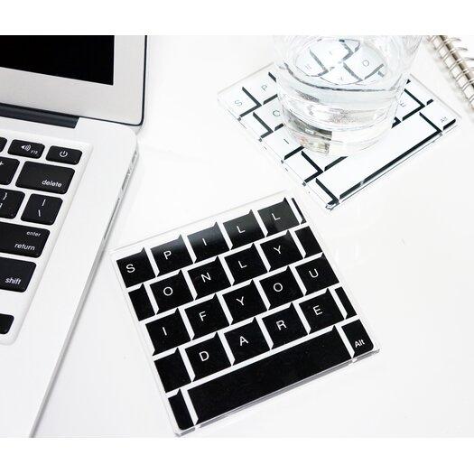 Molla Space, Inc. Keyboard Coasters
