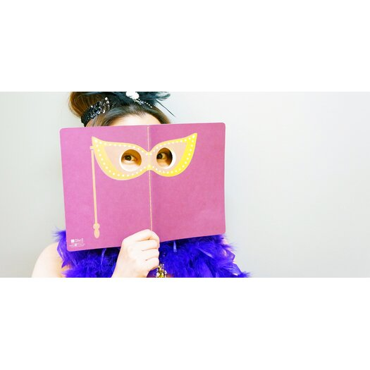 Molla Space, Inc. Masquerade Peeping Notebook