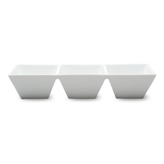 TAG Whiteware Divided Serving Dish