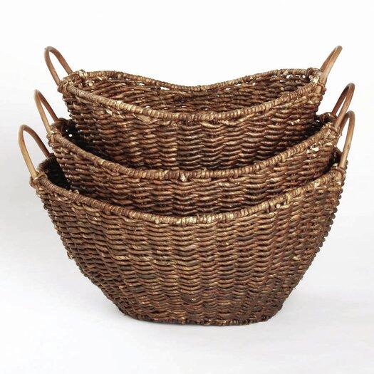 TAG Autumn Corn Husk Basket