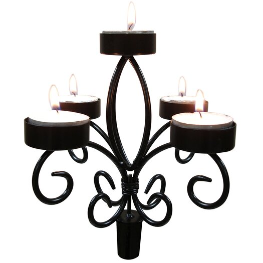Vinotemp Epicureanist Wine Bottle Candelabra