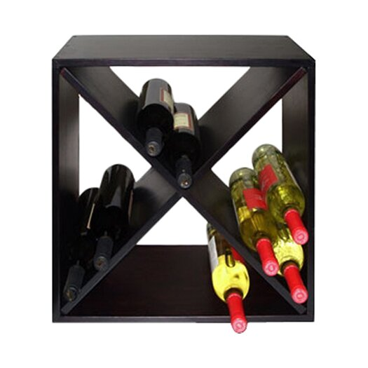 Vinotemp Diamond Bin 24 Bottle Tabletop Wine Rack