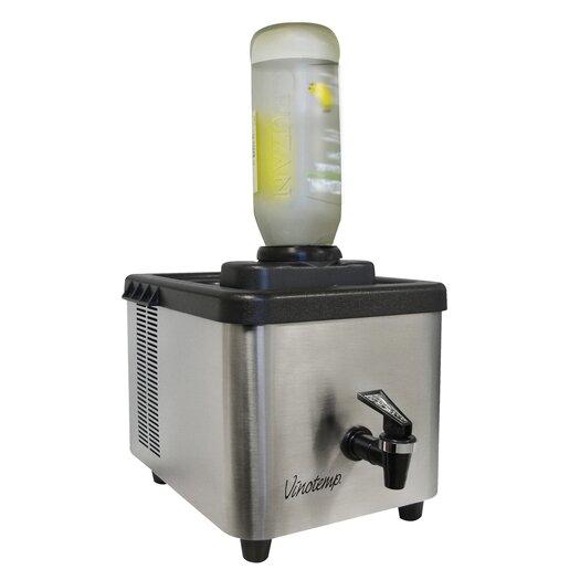 Vinotemp 1 Bottle Single Zone Thermoelectric Shot Chiller & Dispenser