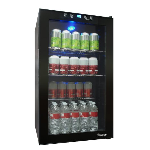 Vinotemp 80 Bottle Single Zone Wine Refrigerator