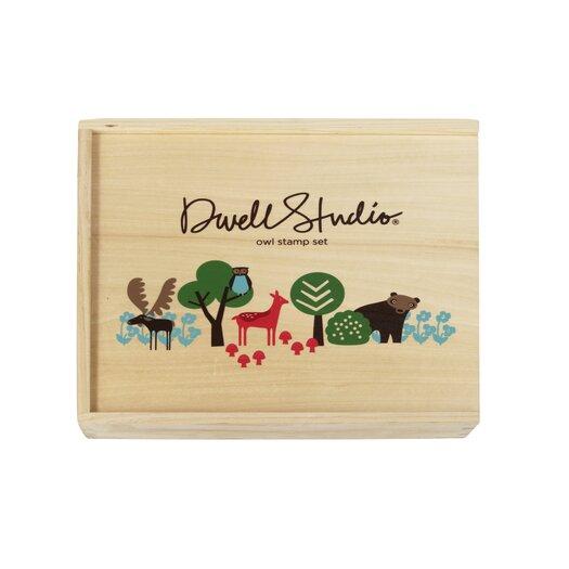 DwellStudio Owl Stamp Set