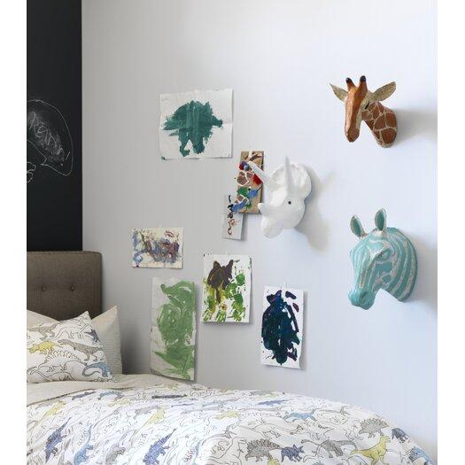DwellStudio Zebra Sky Papier-Mâché Head Wall Décor