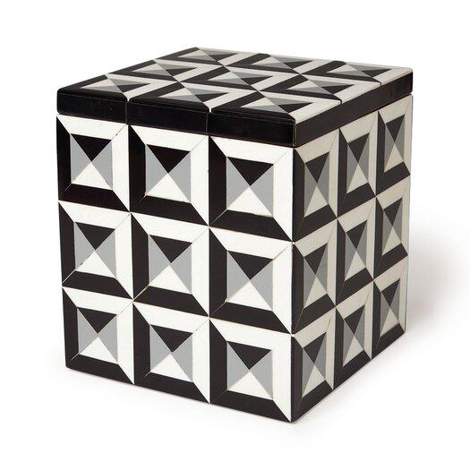 DwellStudio Deco Border Storage Box