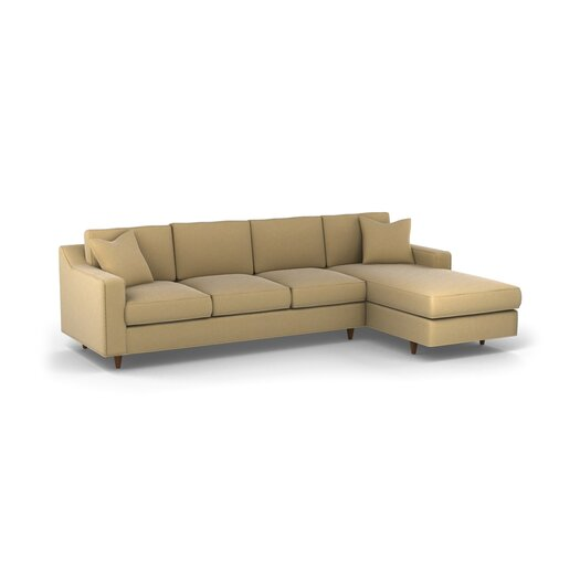 DwellStudio Larkin Right Arm Chaise Sectional Sofa
