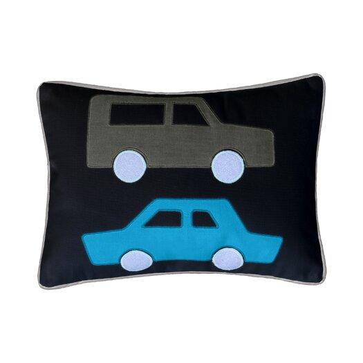 DwellStudio Cars Skyline Boudoir Pillow