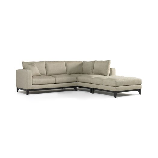 DwellStudio Wright Right Facing Sectional Sofa