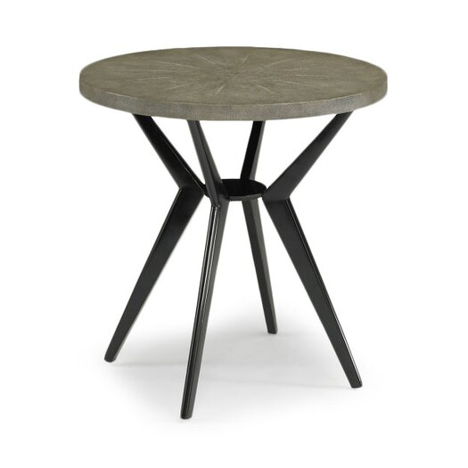 DwellStudio Odin Grey Shagreen Side Table