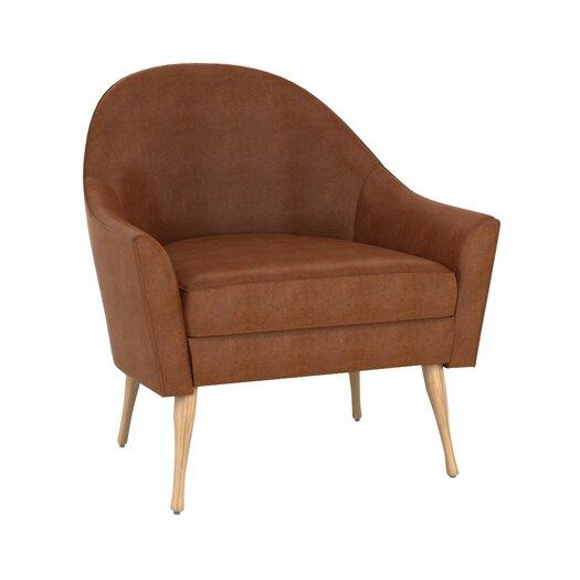 DwellStudio Calvin Leather Chair