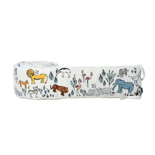 DwellStudio Safari Canvas Bumper