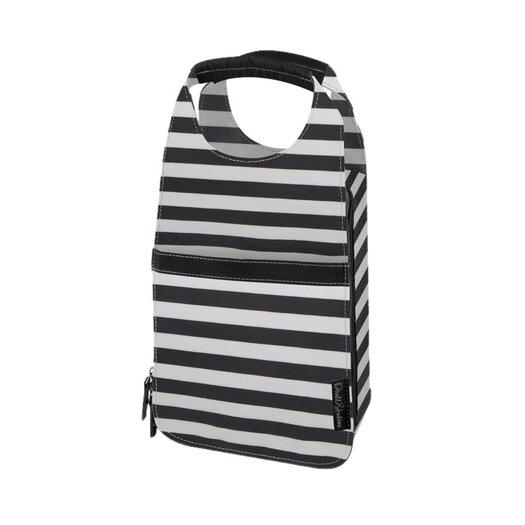 DwellStudio Mini Stripe Ink Insulated Carrier