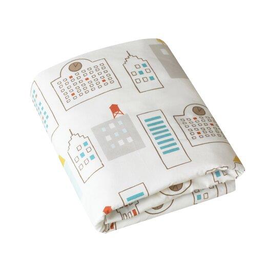 DwellStudio Skyline Fitted Crib Sheet