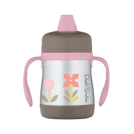 DwellStudio Rosette 7 oz Insulated Soft Spout Sippy Cup