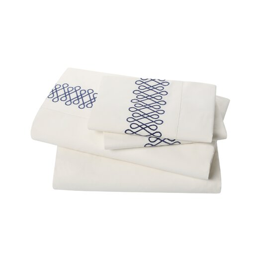 DwellStudio Filigree Admiral Sheet Set