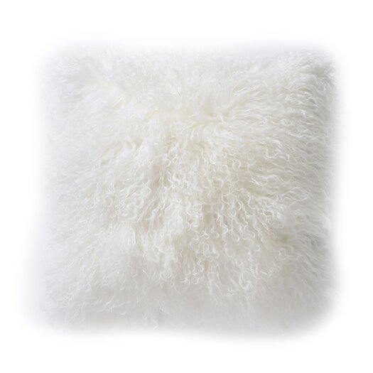 DwellStudio Tibetan Sheepskin Pillow