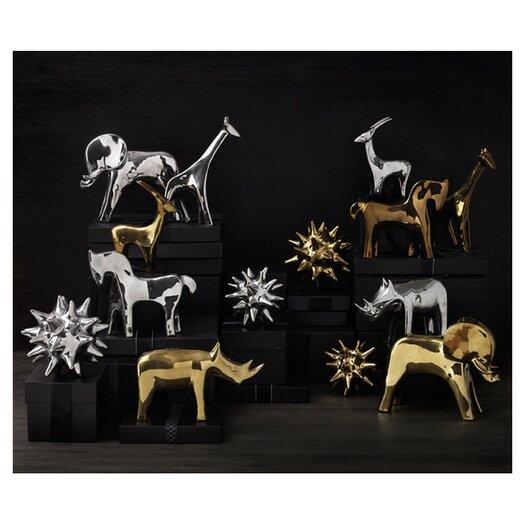 DwellStudio Giraffe Gold Objet
