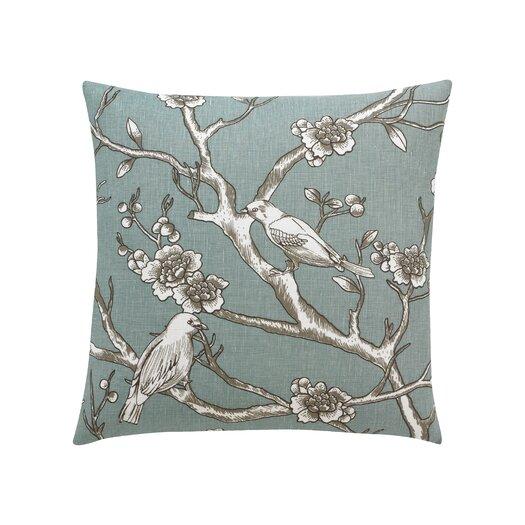 DwellStudio Vintage Blossom Azure Pillow