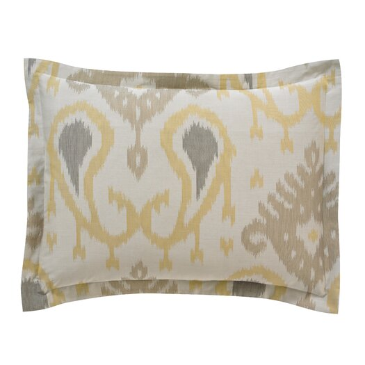 DwellStudio Batavia Citrine King Sham