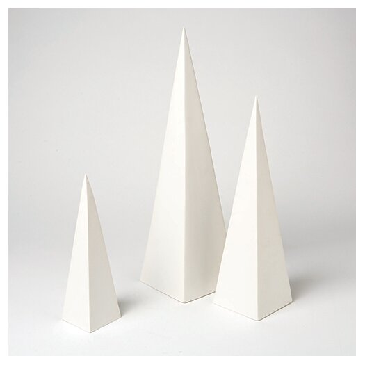DwellStudio Pyramid 3 Piece Object Set