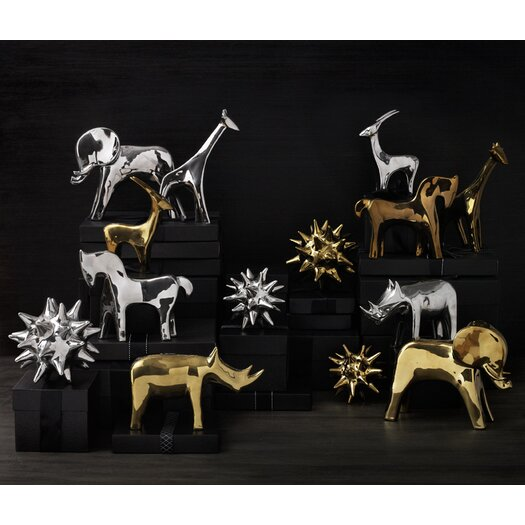 DwellStudio Elephant Gold Object