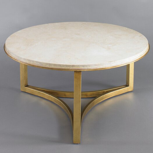 DwellStudio Milo Travertine Coffee Table