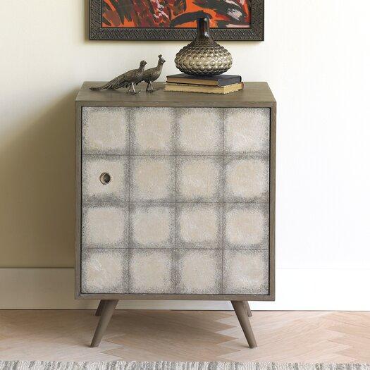 DwellStudio Franklin Silver Leaf Side Cabinet