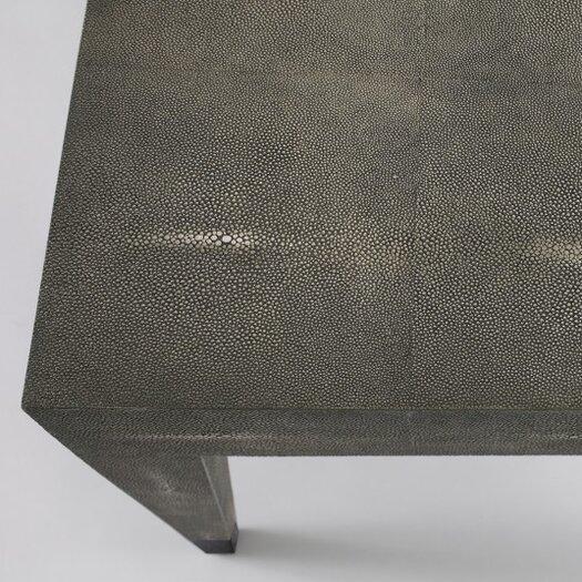 DwellStudio Klein Grey Shagreen Coffee Table