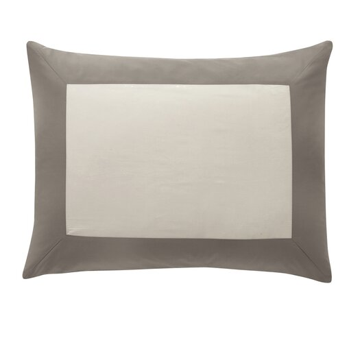 DwellStudio Modern Border Smoke Sham