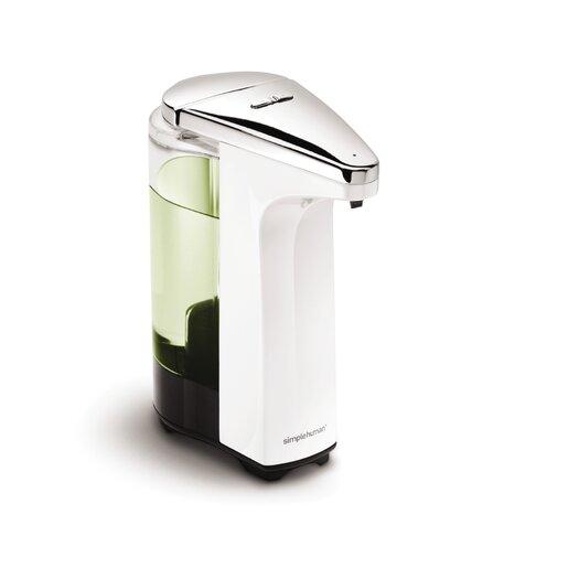 simplehuman 8 oz. Sensor Pump with Soap Sample, White