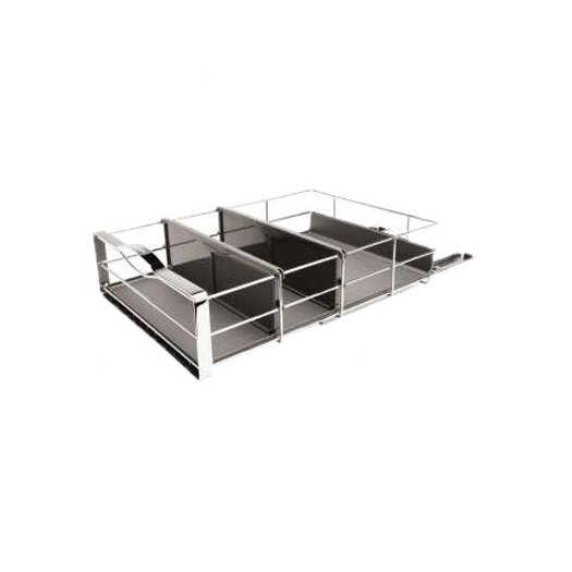 """simplehuman 14"""" Pull-Out Cabinet Organizer, Heavy Gauge Steel"""