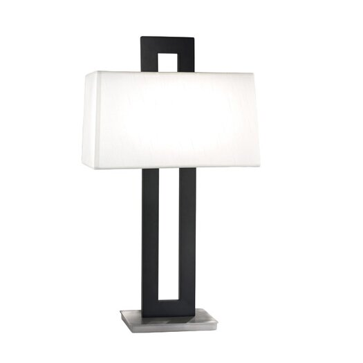 "Sonneman Otto 29"" H Table Lamp with Rectangular Shade"