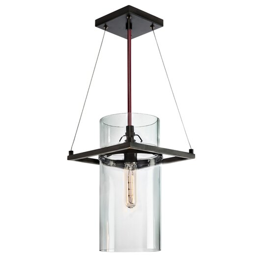 Sonneman Square Ring 1 Light Mini Pendant