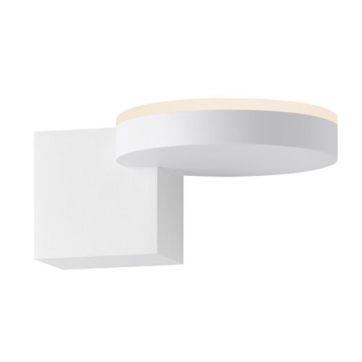 Sonneman Disc-Cube 1 Light LED Wall Sconce