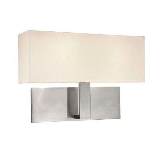 Sonneman Mitra 2 Light Wall Sconce
