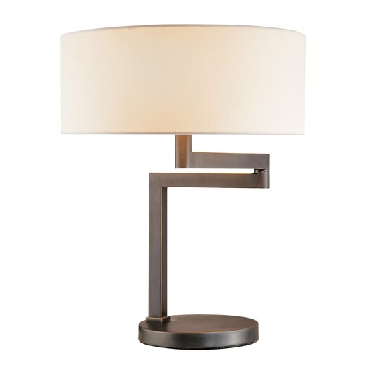 "Sonneman Osso 18.5"" H Table Lamp with Drum Shade"