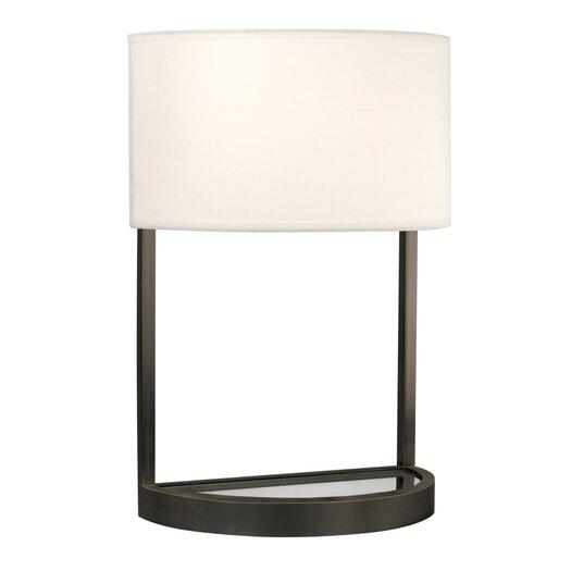 "Sonneman Hemi 20"" H Table Lamp with Drum Shade"