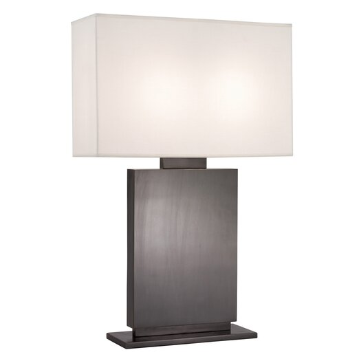 "Sonneman Plinth High 33.5"" H Table Lamp with Rectangular Shade"