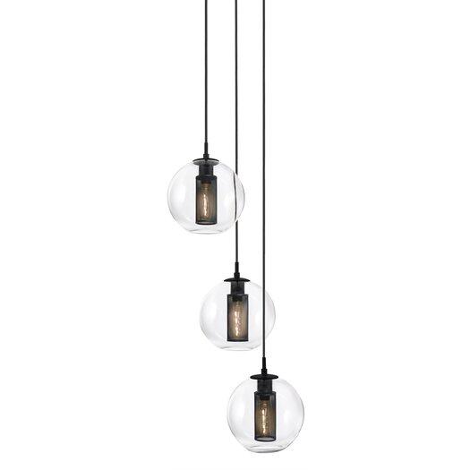 Sonneman Tribeca 3 Light Pendant