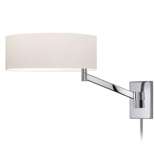 Sonneman Perch Swing Arm One Light Wall Lamp